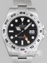 ロレックス ROLEX エクスプローラーII 新型 216570 ブラック  スーパーコピーブランド代引き時計