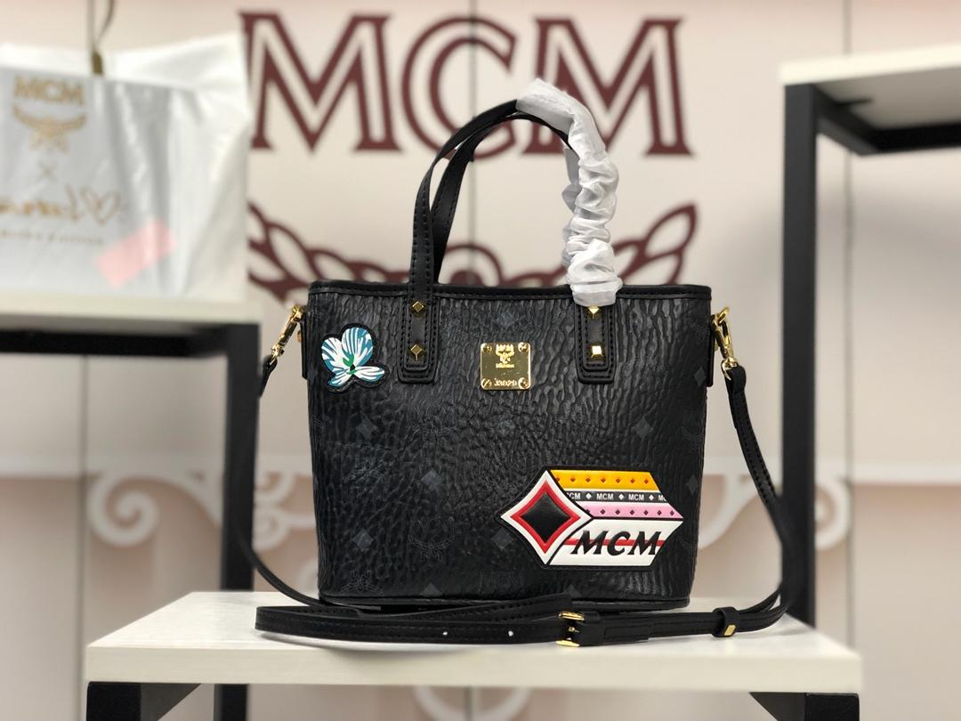 MCM レディース ハンドバッグ 代引き日本国内発送 6203 2色