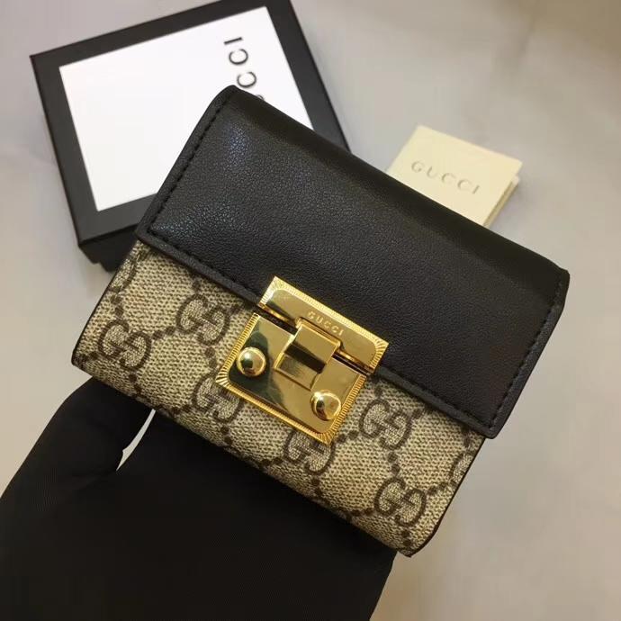 Gucci グッチ レディース 二つ折り財布 後払い  スーパーコピーブランド代引き 453155 4色