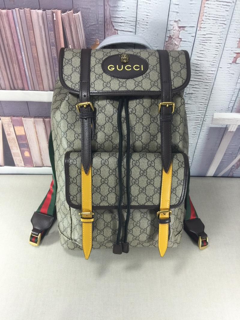Gucci グッチ メンズ リュック 商品口コミ 473869 2色