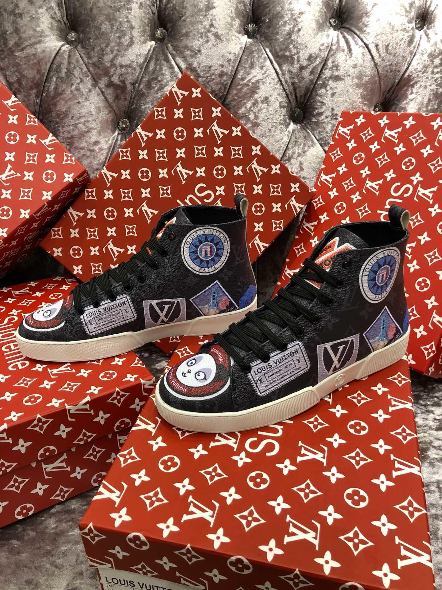 Supreme 靴*ルイヴィトンメンズ サイト届く スーパーコピー 3色