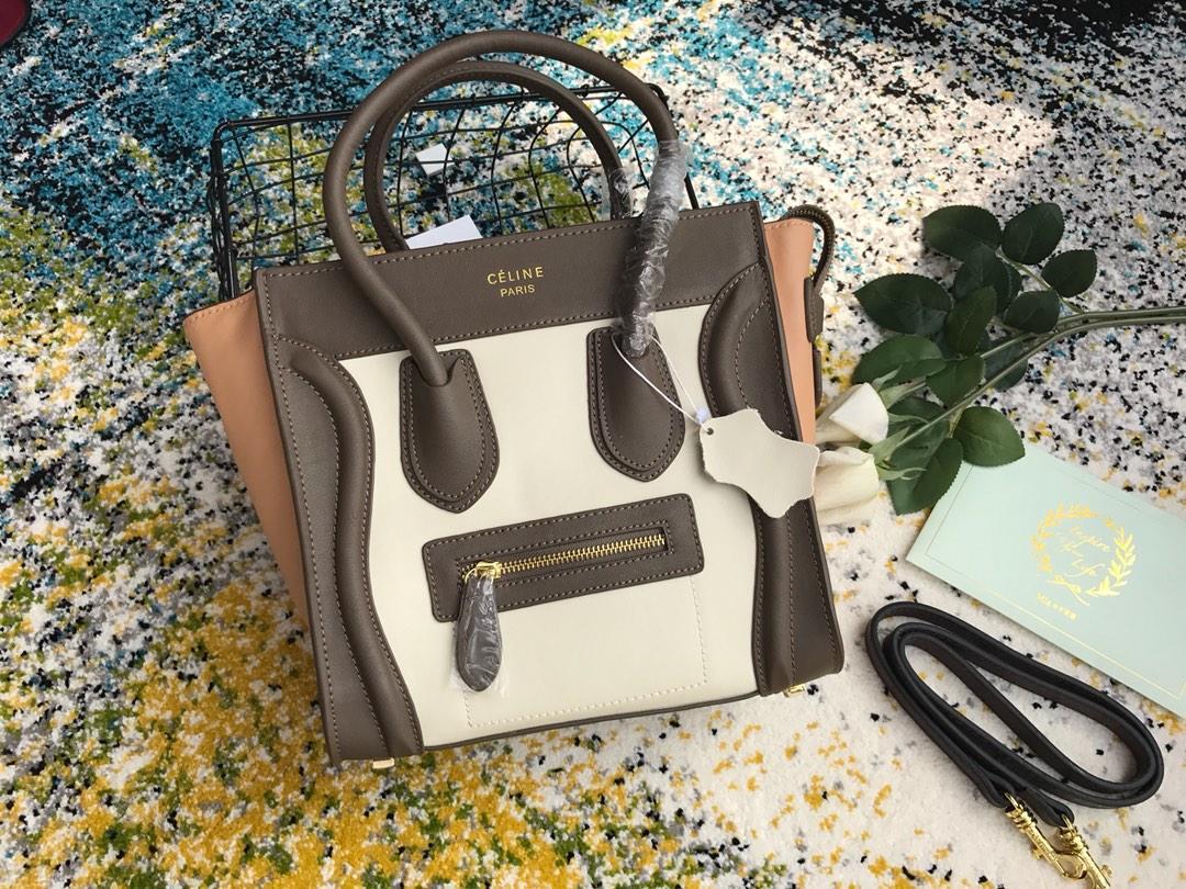 Celine セリーヌ レディース ハンドバッグ 商品代引き 8802 4色