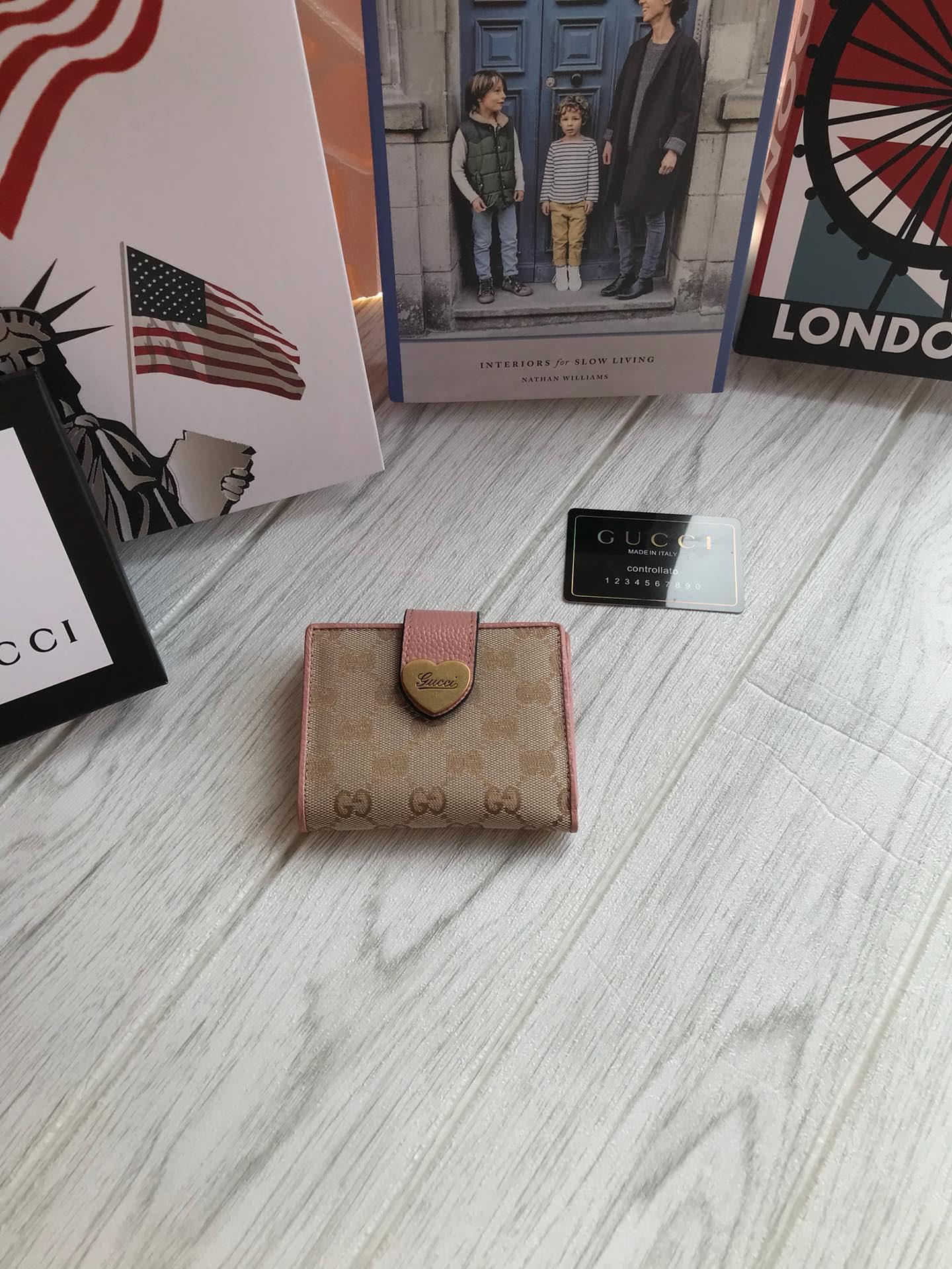 Gucci グッチ レディース 三つ折り財布 代金引換国内 4色