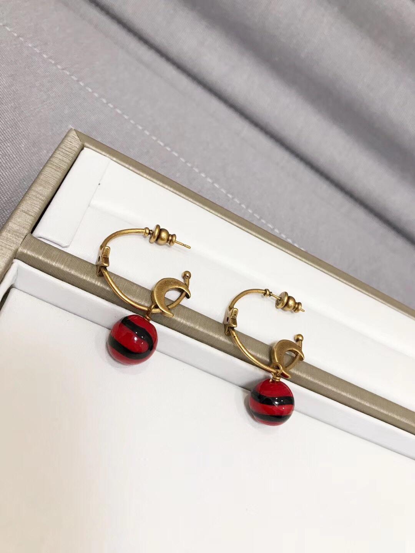 Dior クリスチャンディオール イヤリング 代引き対応 2色