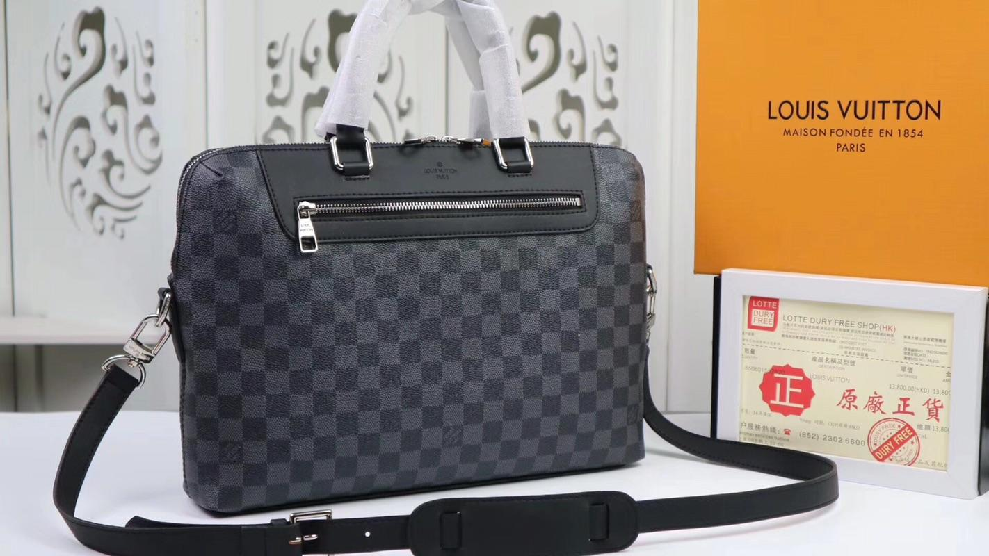 Louis Vuitton ルイヴィトン メンズ ハンドバッグ スーパーコピー サイト届く 2色 N48260