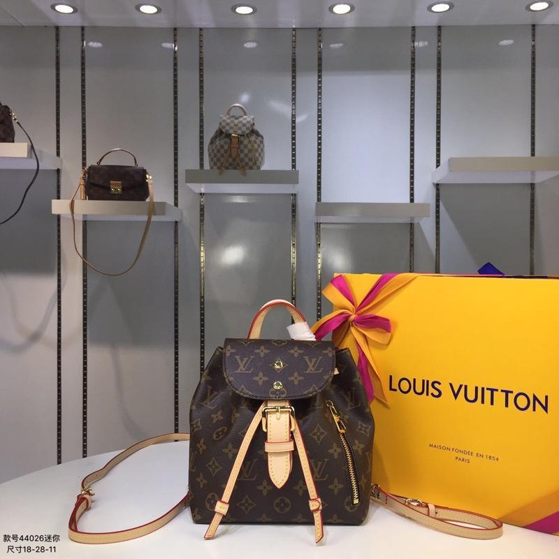 Louis Vuitton ルイヴィトン レディース リュック 商品届いた N44026 2色 ブランドコピーバッグ代引き可能国内発送