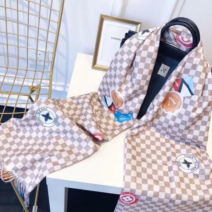Louis Vuitton レディース マフラー おすすめ 安全サイト 代引き通販口コミ 4色