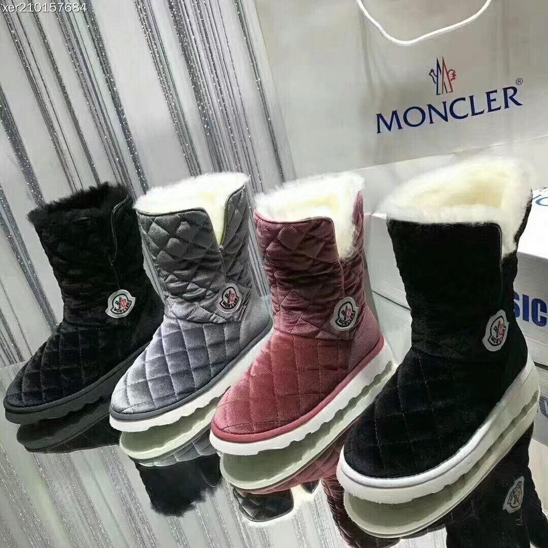 Moncler レディース 冬靴 スーパーコピー 商品専門店 日本国内発送 後払い 4色