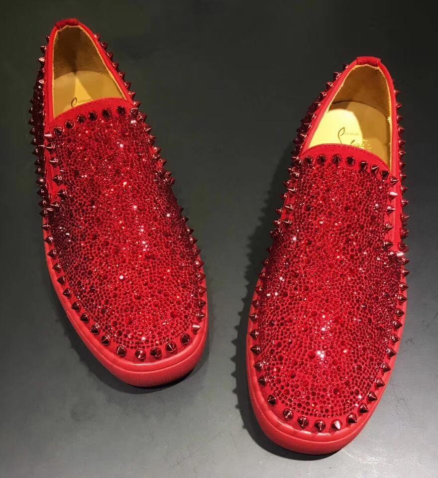 クリスチャンルブタン靴 カップル スーパーコピー 通販信用できる 後払い 2色