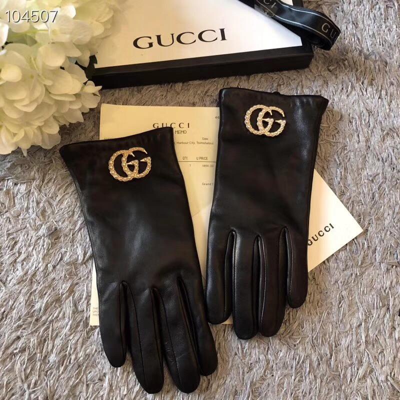 Gucci グッチ レディース 革手袋 専門店届かない 安全日本国内発送 後払い