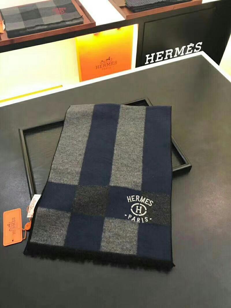 Hermes エルメス メンズ マフラー ばれない おすすめ 代引き日本国内発送 n級口コミ 2色