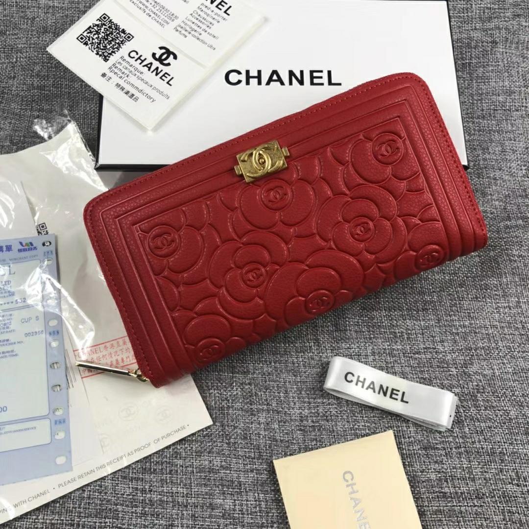 Chanel シャネル レディース 財布 スーパーコピーブランド 口コミ 日本国内発送 2色