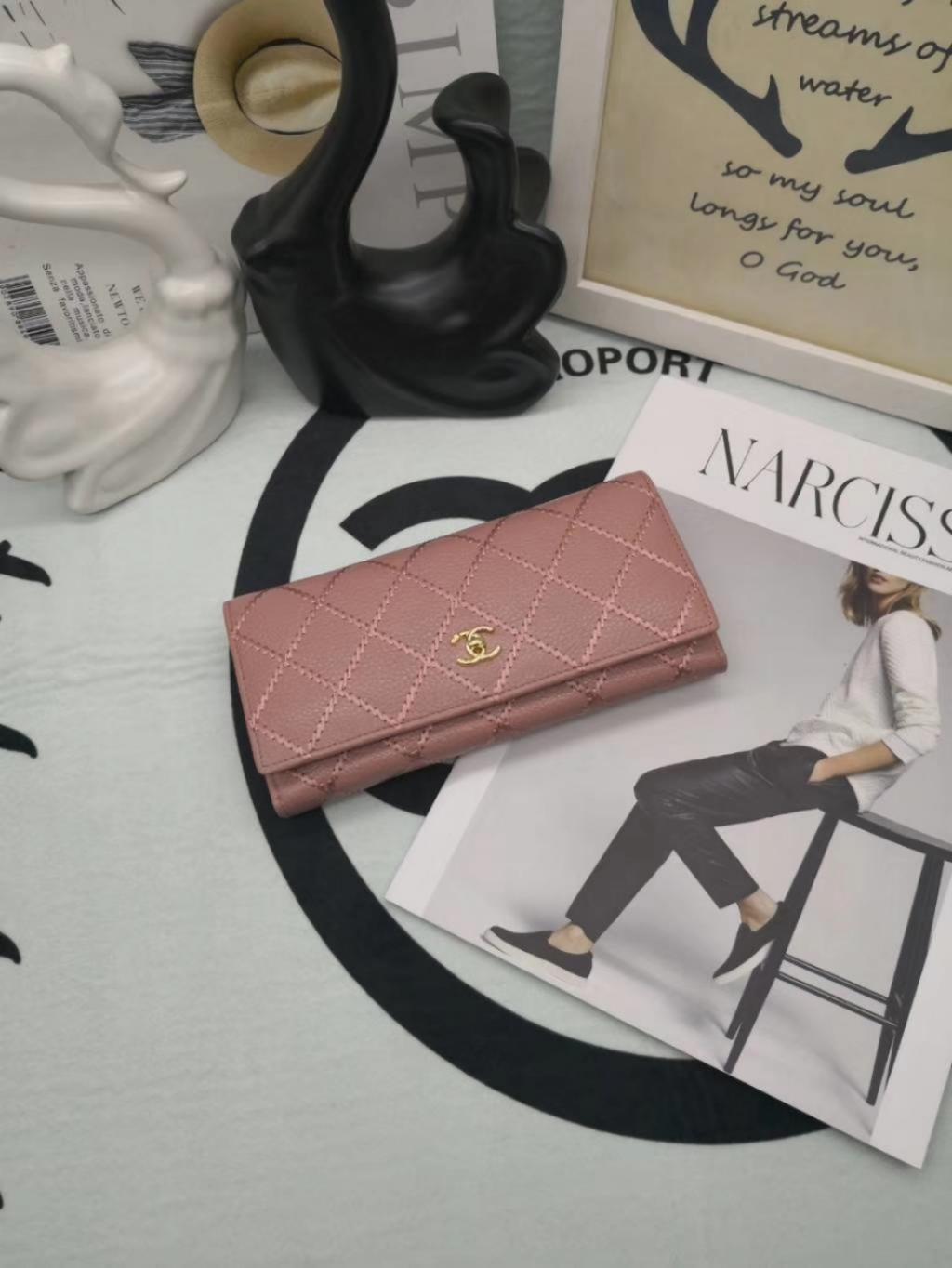 Chanel シャネル レディース 財布 通販大丈夫 ブランドコピー 日本国内発送 2色
