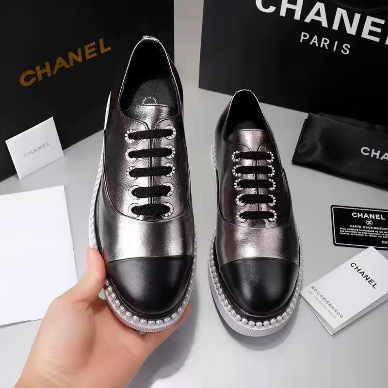 シャネル レディース 靴 専門店届かない 最新入荷 ブランドスーパーコピー 4色