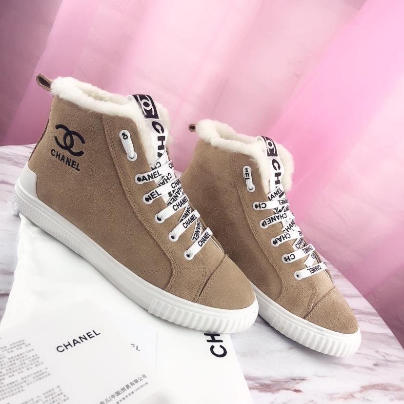 シャネル レディース 靴冬 ブランドスーパーコピー 代金引換国内 サイト届く 3色  6724077