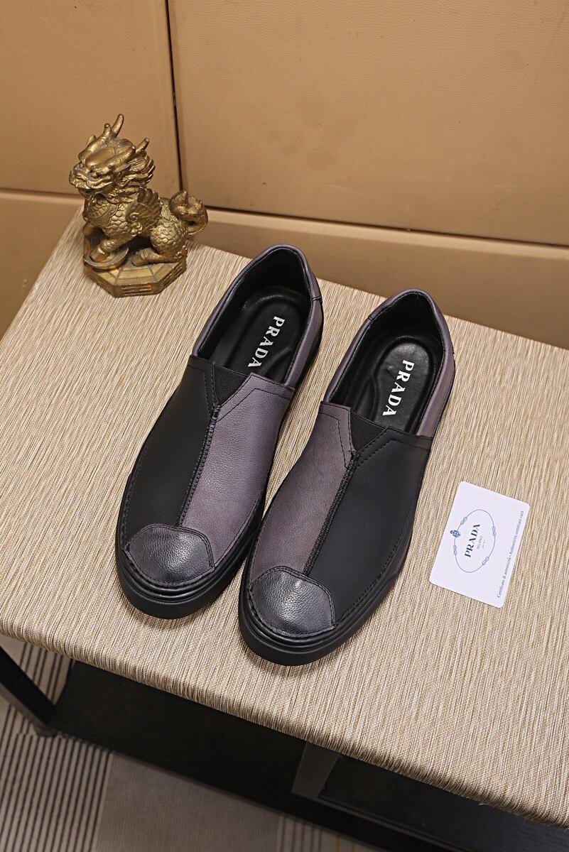 Prada プラダ メンズ 靴 専門店信頼 代引きランキング 最高品質 2色 p6723056