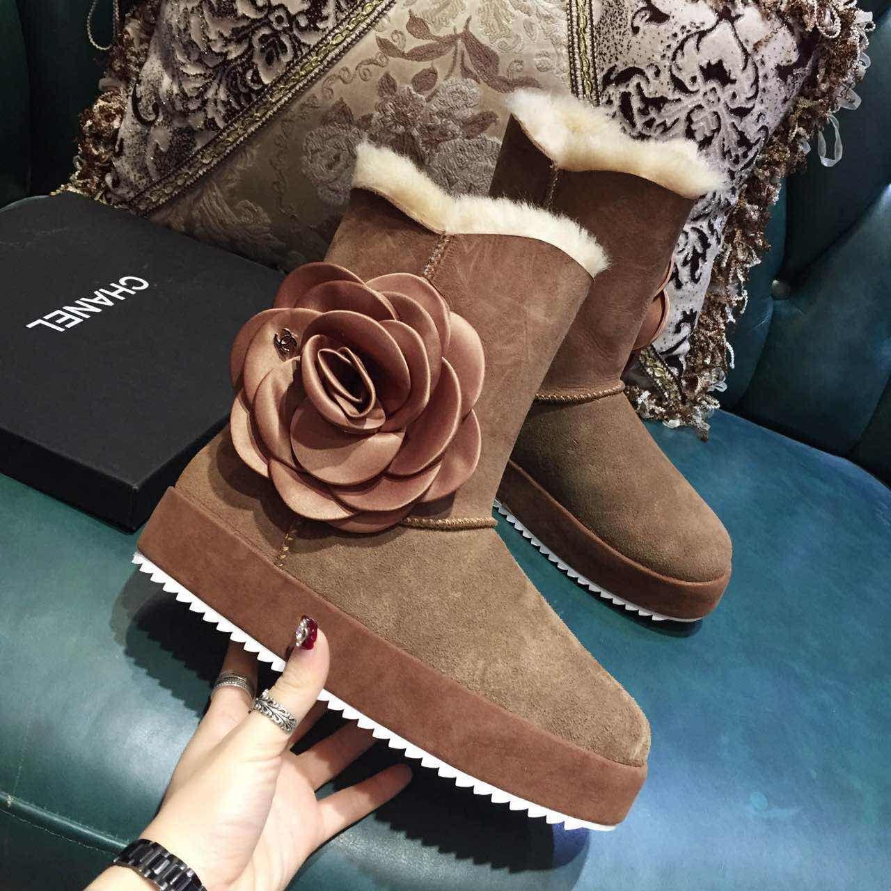 シャネル レディース 冬靴 2色 ブランドスーパーコピー 最新入荷 p7832067