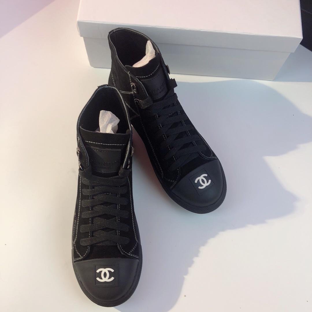 Chanel シャネル カップル 2色 靴 専門店口コミ 代引き通販口コミ p6722087