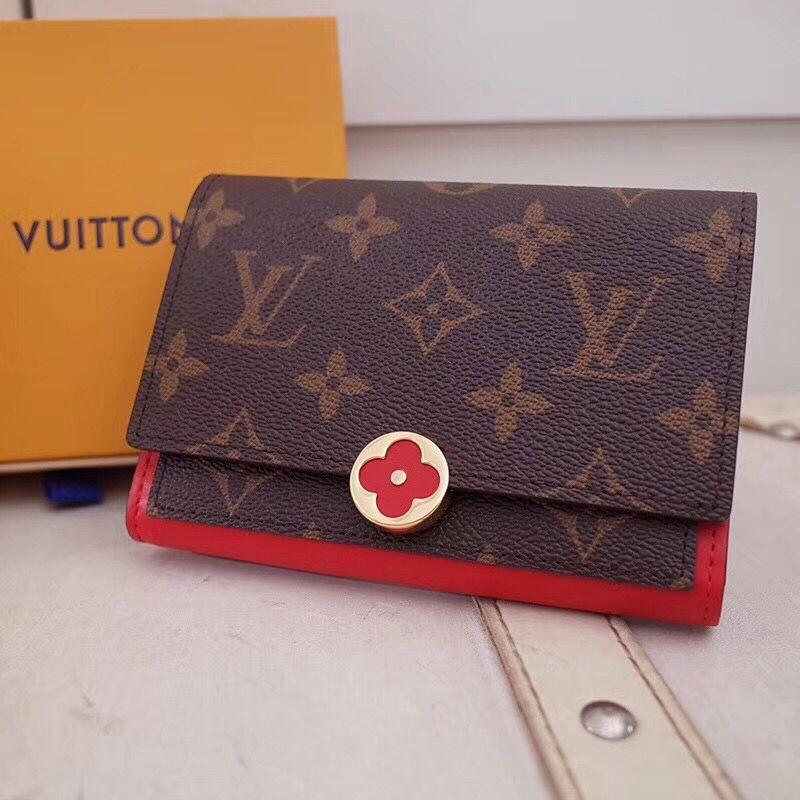 超スーパーコピー品 M65487Louis Vuitton ルイヴィトン レディース 短財布 代引き対応安全