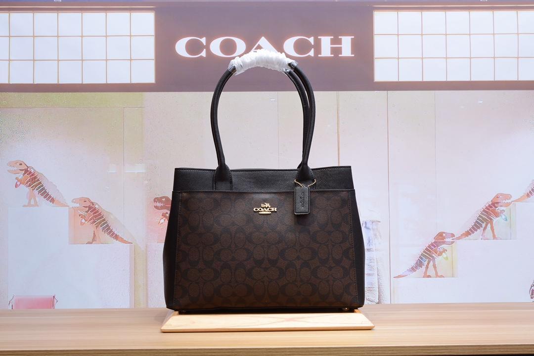 Coachコーチ レディース 2色 ハンドバッグ 安全必ず届く 国内発送代引き