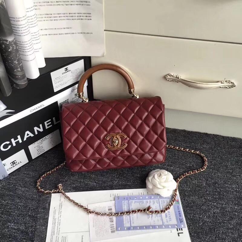 Chanel シャネル レディース ハンドバッグ 2色 代引き対応 安全なところ