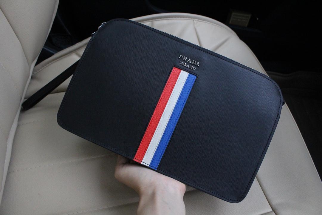 Prada プラダ メンズ クラッチバッグ 2色 n級品入手 通販代引き 日本国内発送 2914-2
