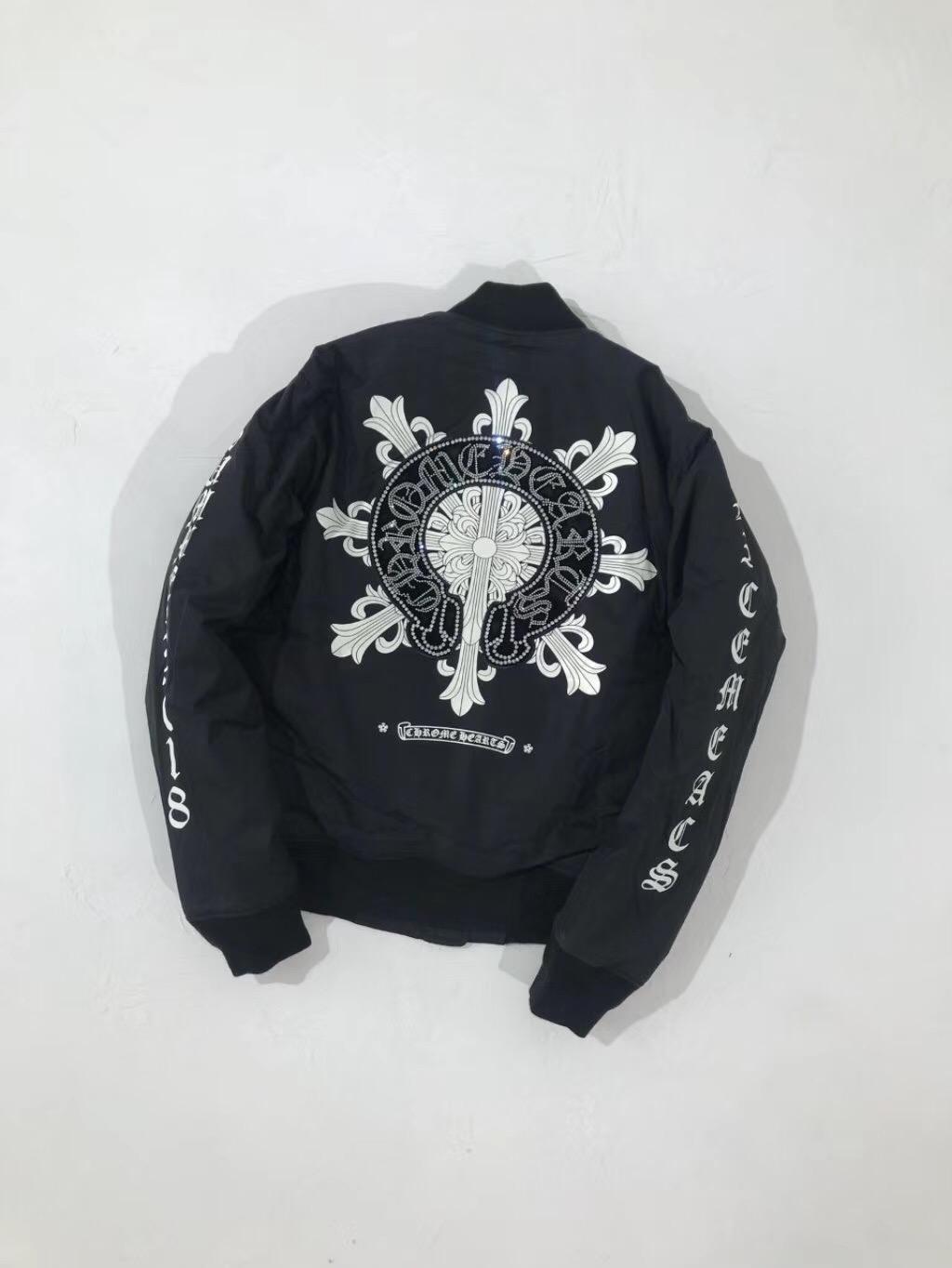 クロムハーツ メンズ ジャケット ブランドスーパーコピー 代金引換国内 最新入荷
