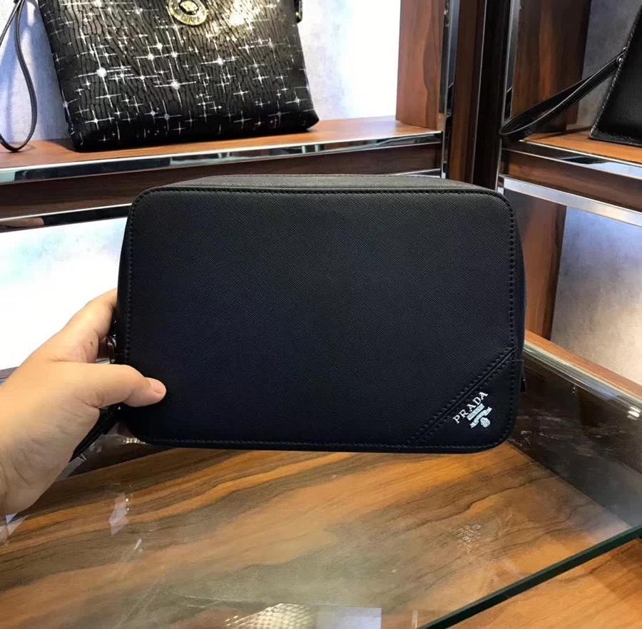 Prada プラダ メンズ クラッチバッグ 専門店安全 日本国内発送 K33076