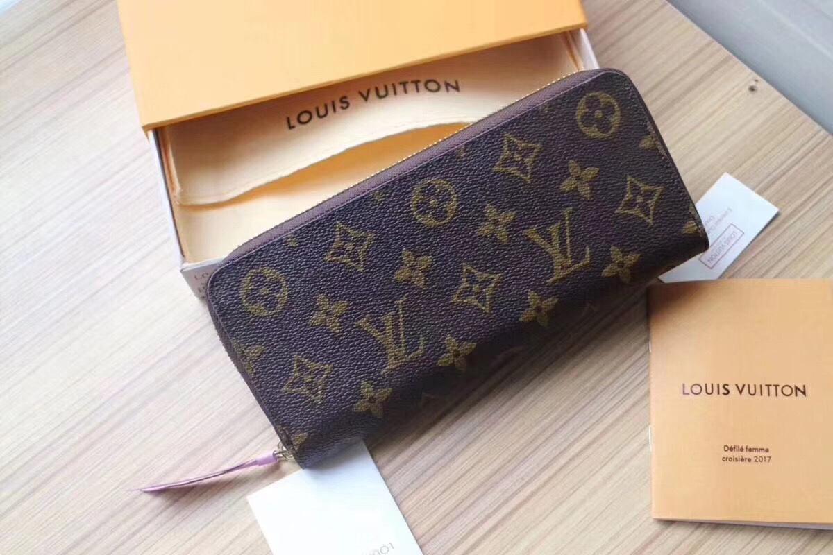 Louis Vuitton ルイヴィトン レディース4色 財布 代引き届く 通販口コミ 後払い M60742