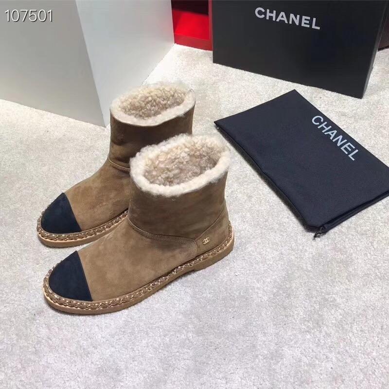 Chanel シャネル レディース 2色 冬靴 専門店届かない 代引き日本国内発送
