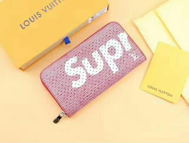 supreme* ルイヴィトン カップル 財布 日本国内発送 2色 代金引換 送料無料 M67541