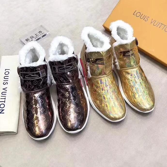 Louis Vuitton ルイヴィトン 冬靴 メンズ 2色 日本国内発送 おすすめ 後払い 最高級品