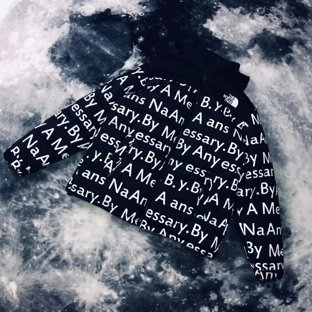 supreme*The North Face カップル 3色 コットンの冬服 専門店信頼 代金引換国内