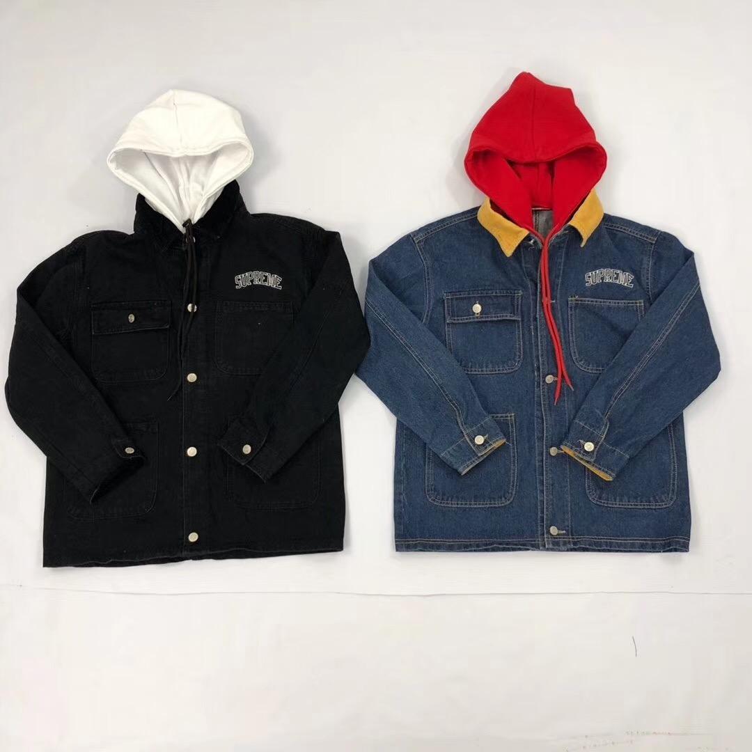 シュプリーム デニム ジャケット 2色 カップル ばれない おすすめ 通販後払い 日本国内発送