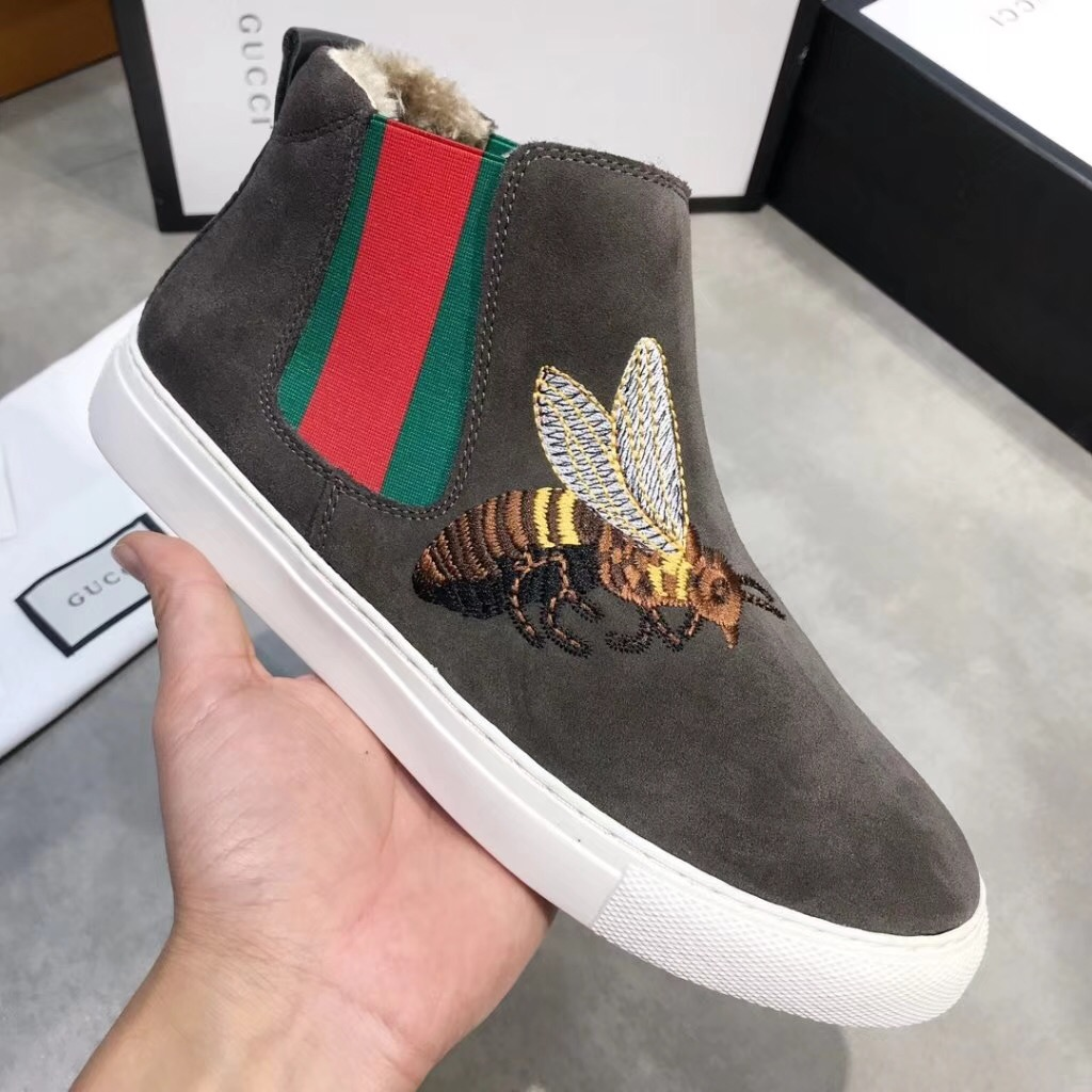 Gucci グッチ メンズ 靴 おすすめ 安全サイト 日本国内発送 3色 商品口コミ