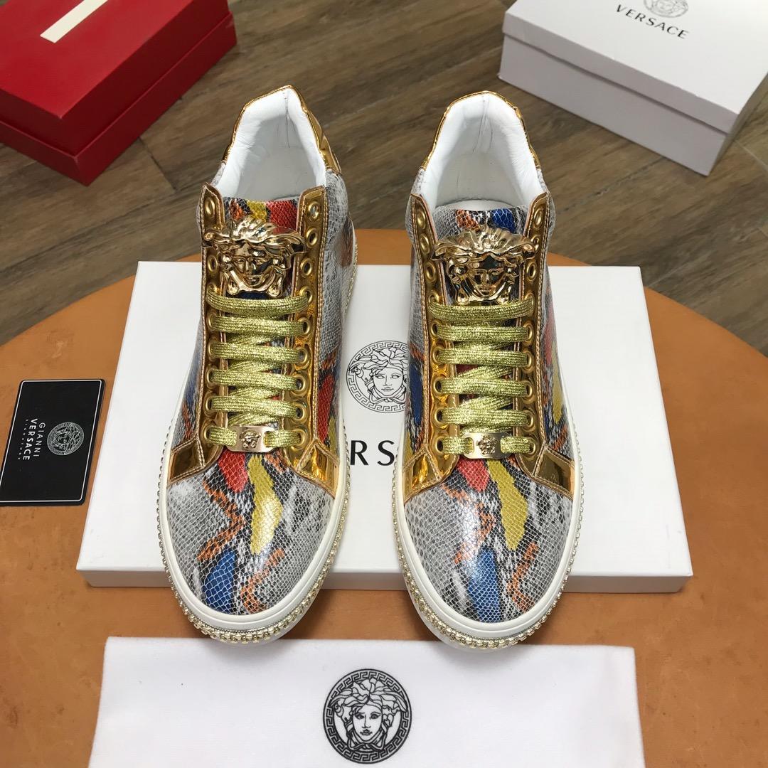 Versaceヴェルサーチ メンズ 靴 2色 通販代引き 送料無料 通販信用できる