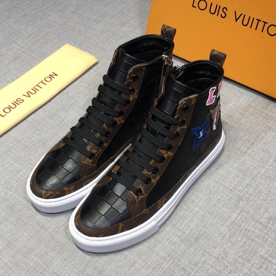 ルイヴィトン 靴 メンズ 2色 代引き通販 送料無料 日本国内発送