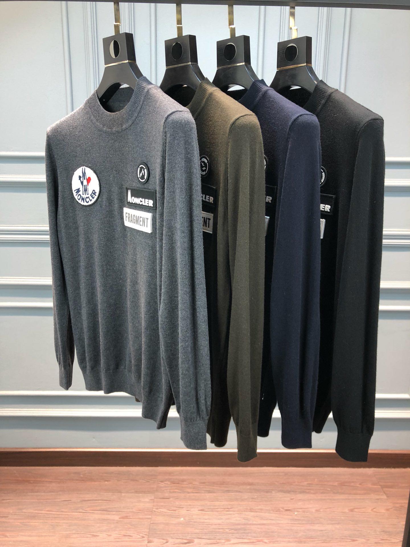 モンクレール Moncler メンズ 4色 セーター 商品専門店 代引き対応 後払い