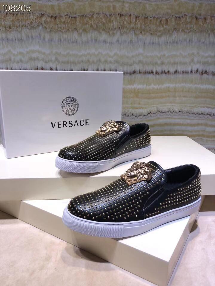 Versaceヴェルサーチ メンズ 靴 ばれない おすすめ ブランドスーパーコピー