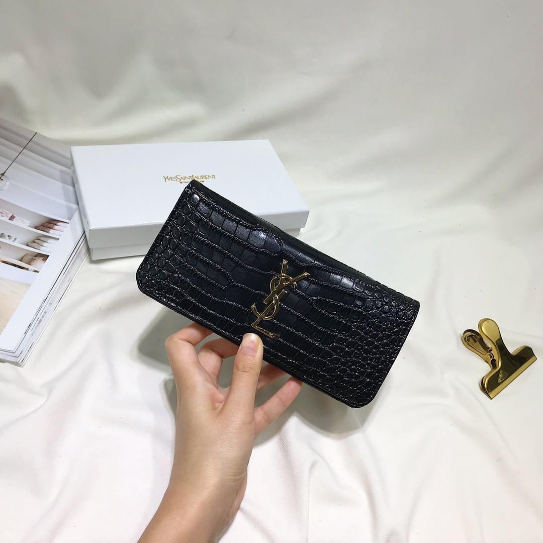 イヴサンローラン レディース 財布 2色 おすすめ 安全サイト 代引き後払い 送料無料