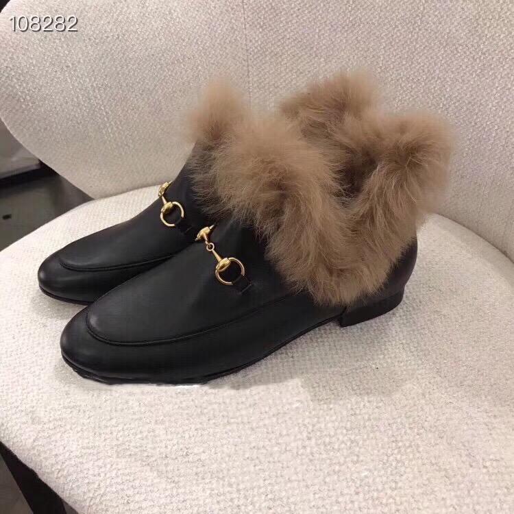 Gucci グッチ レディース 冬靴 2色 通販おすすめ 送料無料 安全なところ