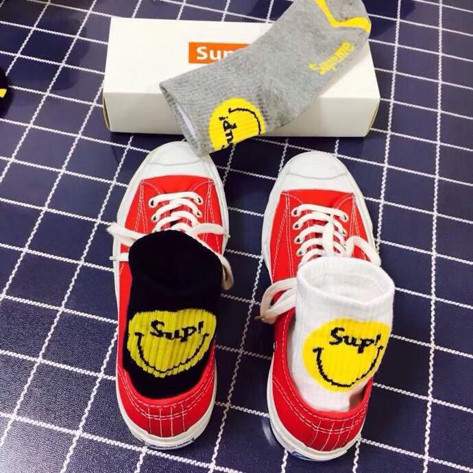 Supreme シュプリーム カップル 靴下 6足セット 安全必ず届く 代引き日本国内発送