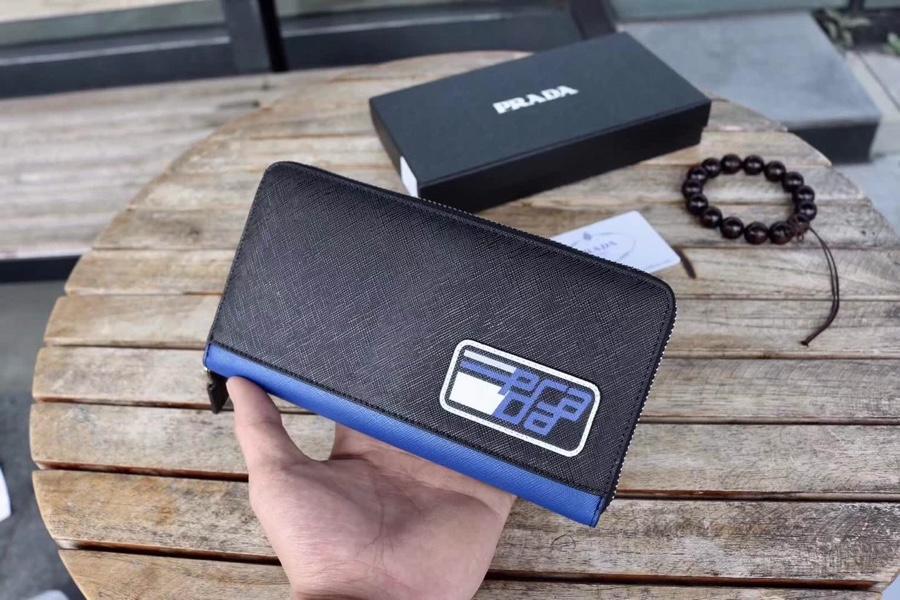 Prada プラダ メンズ 財布 スーパーコピー 安全必ず届く 送料無料 V2223