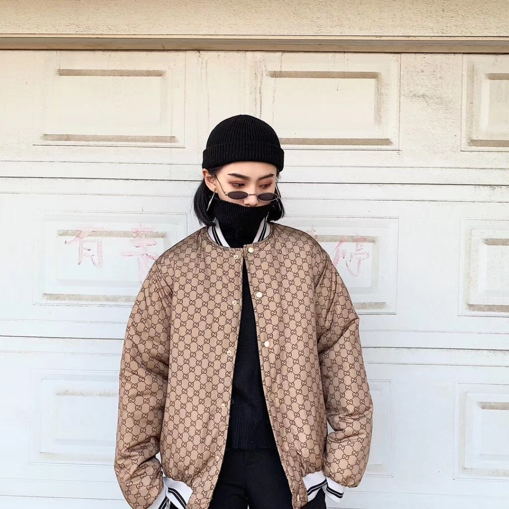 Gucci グッチ カップル コットンの冬服 日本国内発送 専門店届かない ブランドスーパーコピー