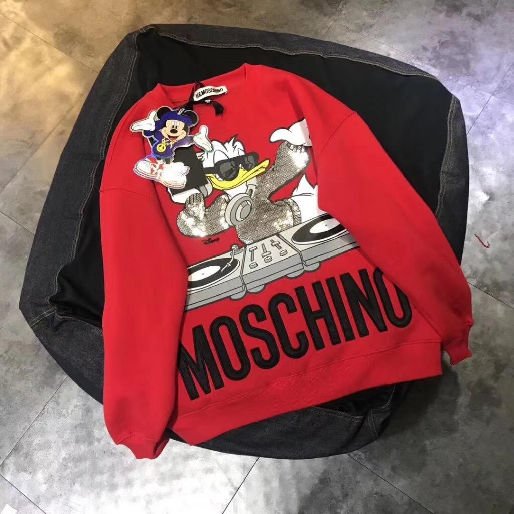 Moschion*HM カップル スウェット 2色 ブランドスーパーコピー 商品代引き 口コミ