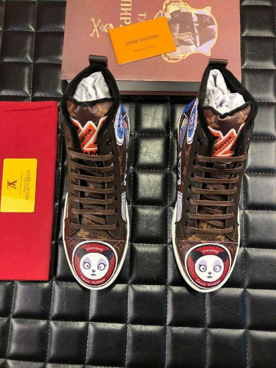 Louis Vuitton ルイヴィトン メンズ 靴 2色 安全必ず届く 代引き対応