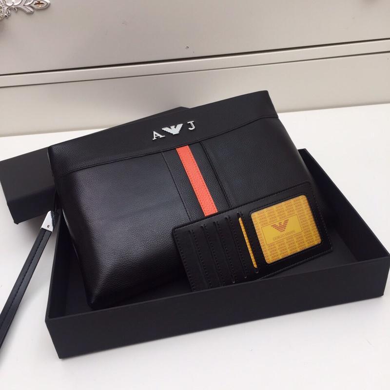 Armaniアルマーニ メンズ クラッチバッグ スーパーコピー 安全必ず届く 8901822-11
