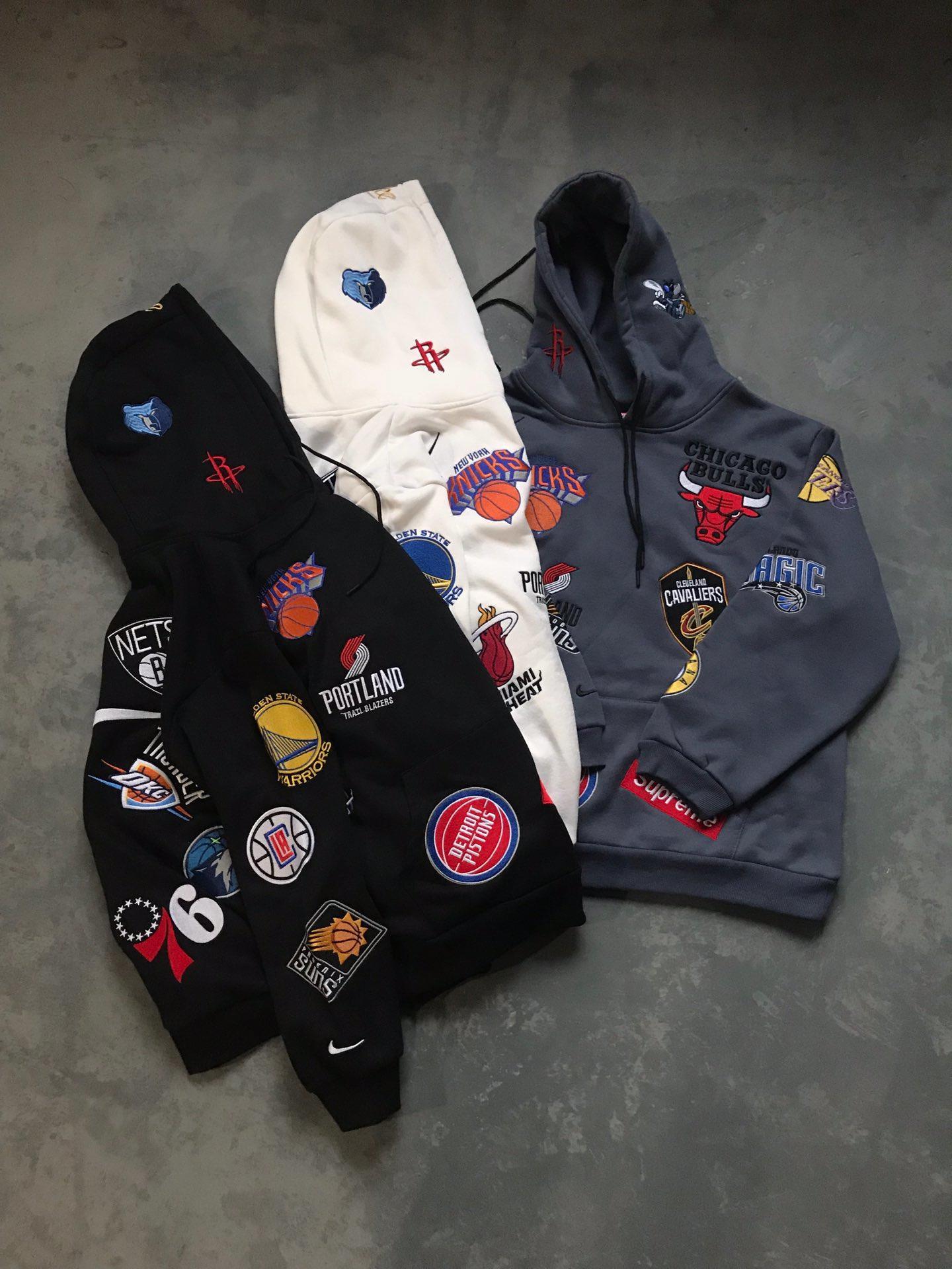 Supreme シュプリーム*NIKE*NBA  カップル スウェット 国内販売店 通販大丈夫 最新入荷