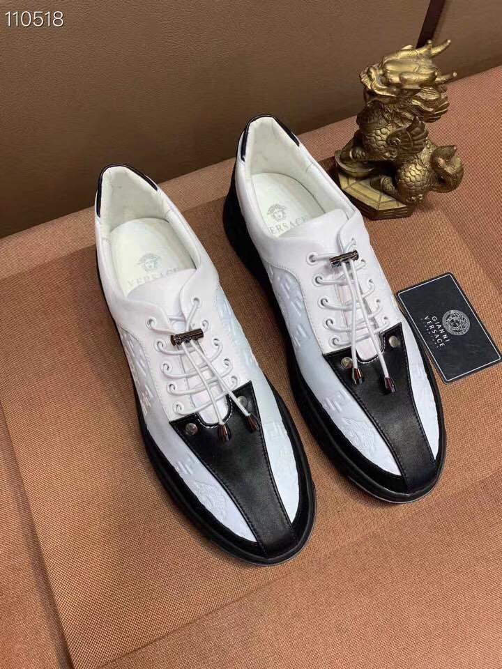 Versaceヴェルサーチ メンズ 靴 2色 専門店代引き 代金引換国内 安全販売