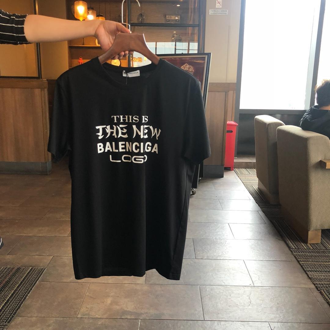 Balenciaga バレンシアガ カップル 半袖 2色 スーパーコピー 代引きできる店